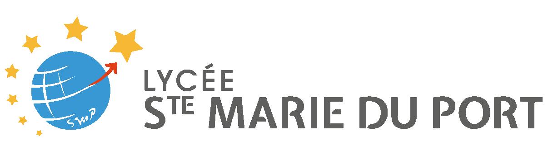 Lycée Ste Marie du Port - Logo (version horizontale)