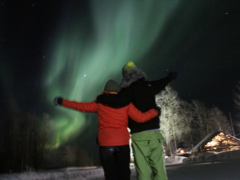 Parcours international - Finlande - aurore bauréale