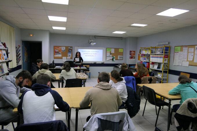 lycée SMP - Salle orientation