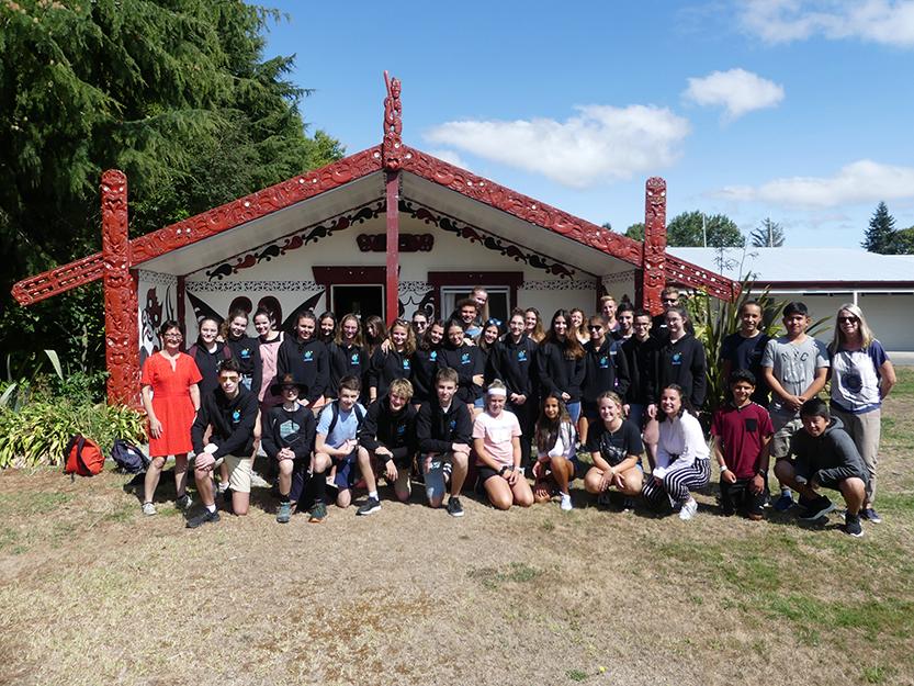 Parcours international - Nouvelle Zélande - photo groupe