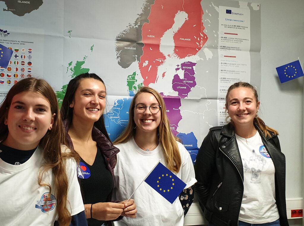 BAC ST2S - Erasmus day