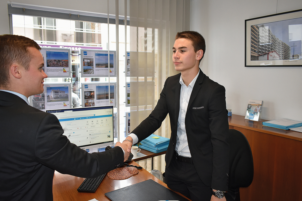 BTS Immobilier - Stage agence