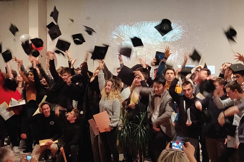 Remise des diplômes LP