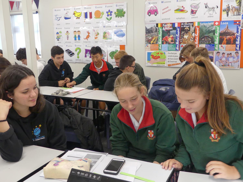Parcours international - Nouvelle Zélande - travail de groupe