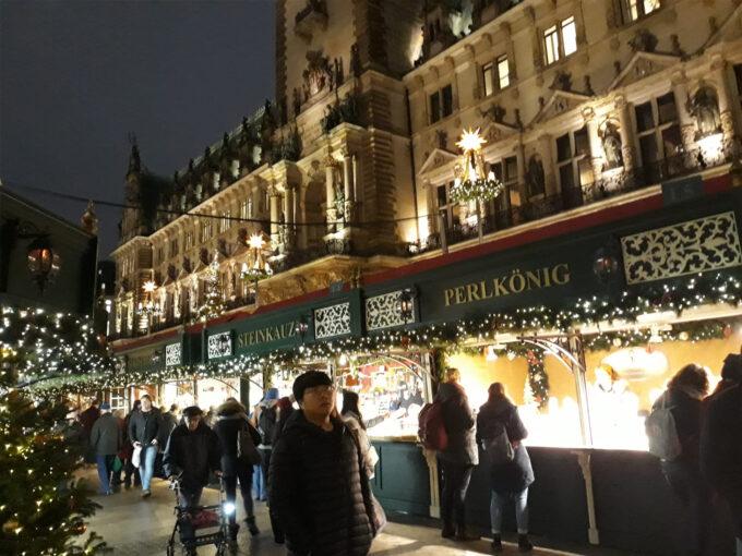 Hambourg - marché de Noël