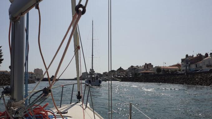 projet voile - 1ère sortie en mer