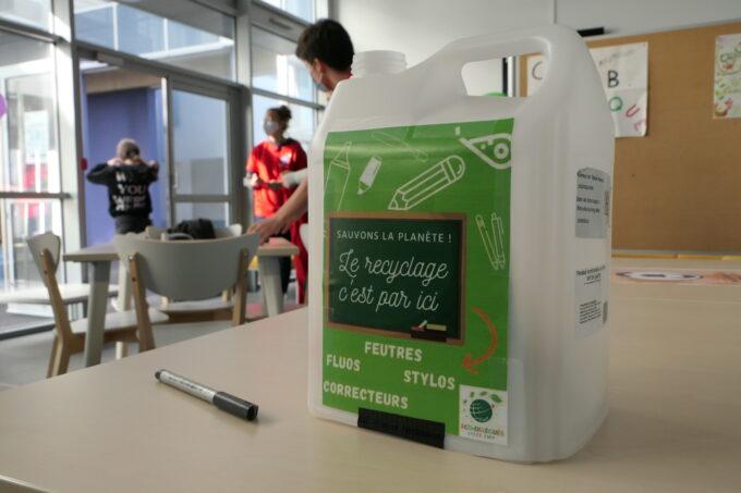 Maison des lycéens - recyclage