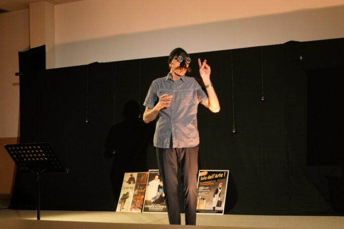 oral en scène