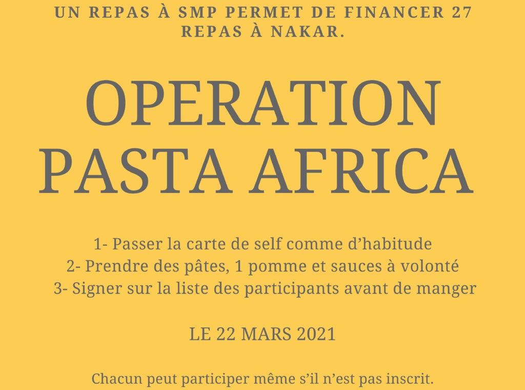 affiche pasta africa 2021